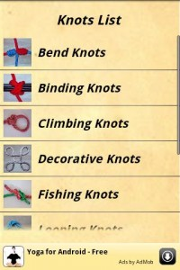 Knots Guide screenshot