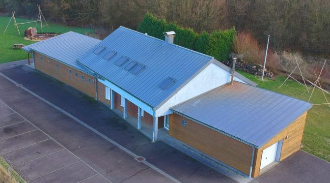 Loftfoto vum Chalet Monnerech, Foto: jbm.lu
