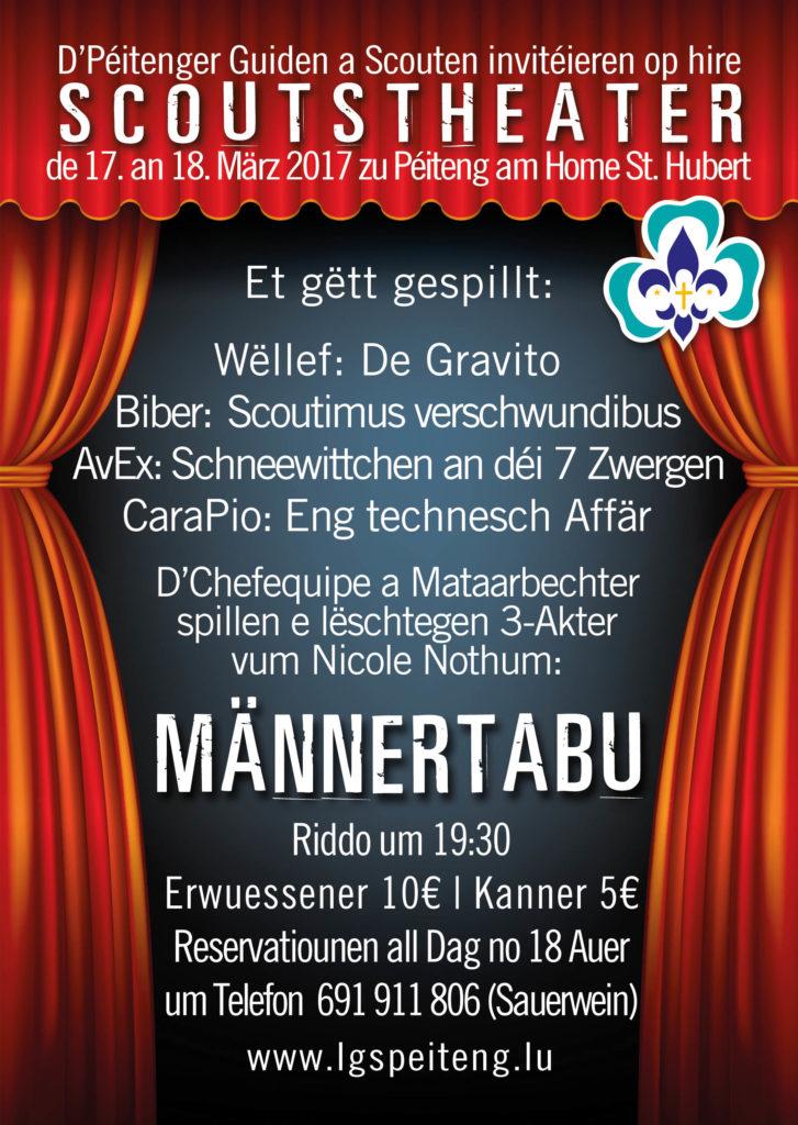 Scoutstheater 2017 flyer