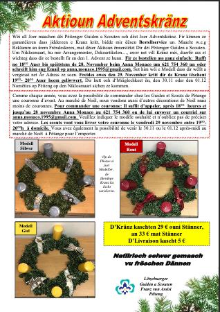 PDF Adventskrantz Bestellung