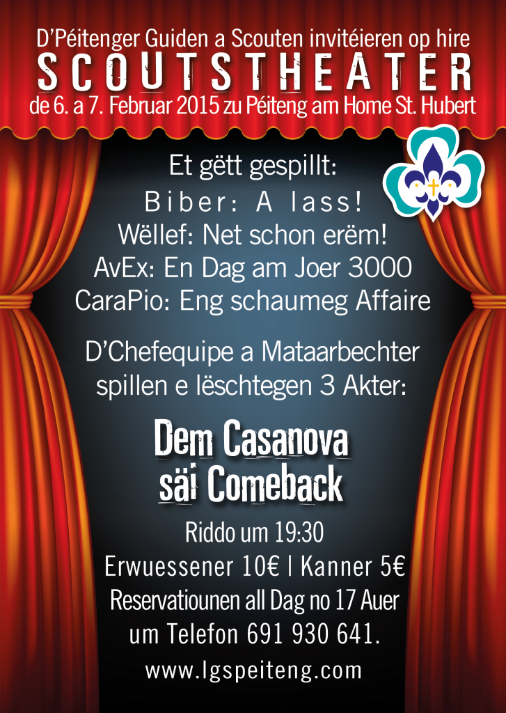 Theater 2015 Flyer