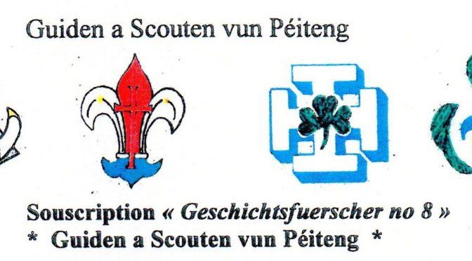 Buch: Guiden a Scouten zu Péiteng