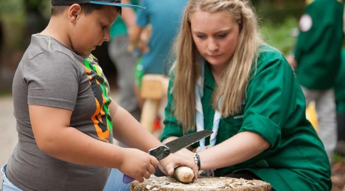 """Fotoe vum """"Scout fir een Dag"""" 2014"""